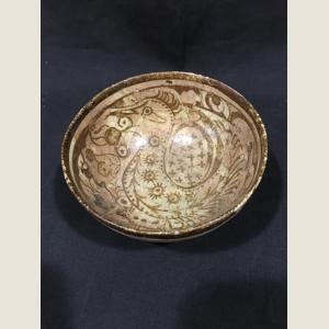 Image For: Ancient Islamic Glazed Bowl