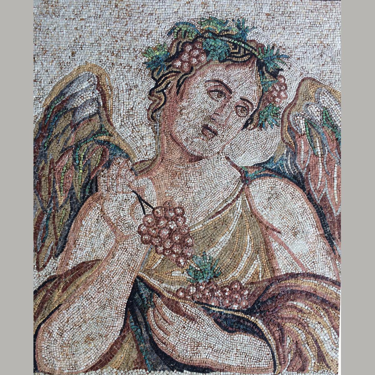 Ancient Roman Season Mosaic