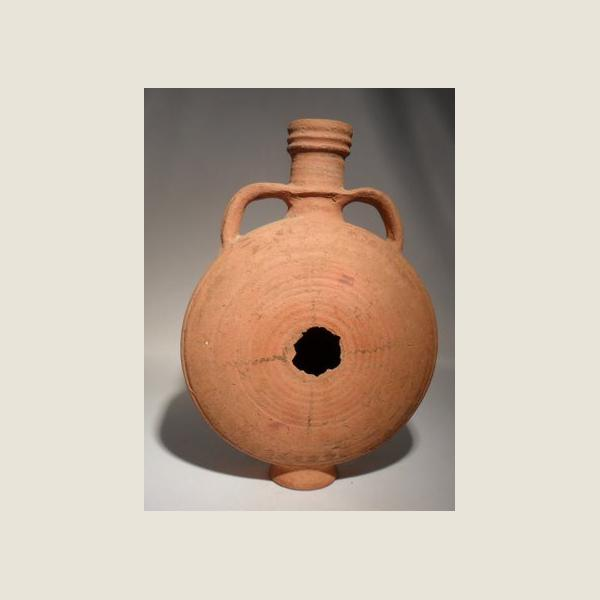 Ancient Egyptian Coptic Pilgrim's Flask