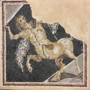 Image For:  Ancient Roman Mosaic of Centaur