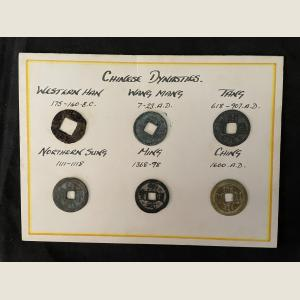 Click here to go to the Ancient Chinese Dynasty Coins page