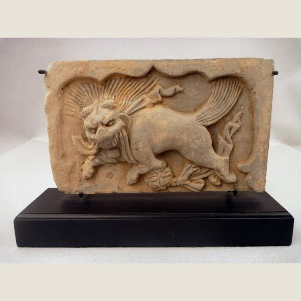Ancient Chinese Terracotta Architectural Tile