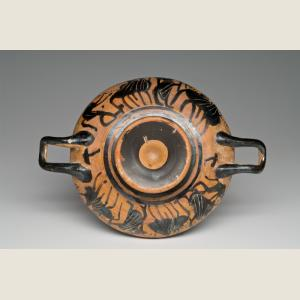 Image For: Ancient Greek Attic Black-Figure Kylix