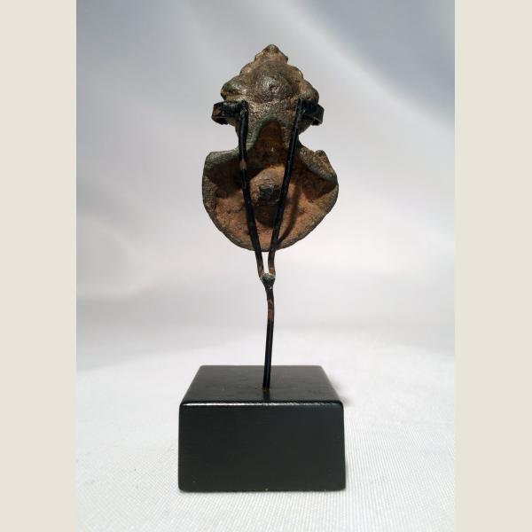 Ancient Roman Bronze Head of Mithras