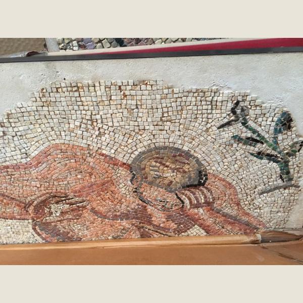 Ancient Roman Gigantes Mosaic