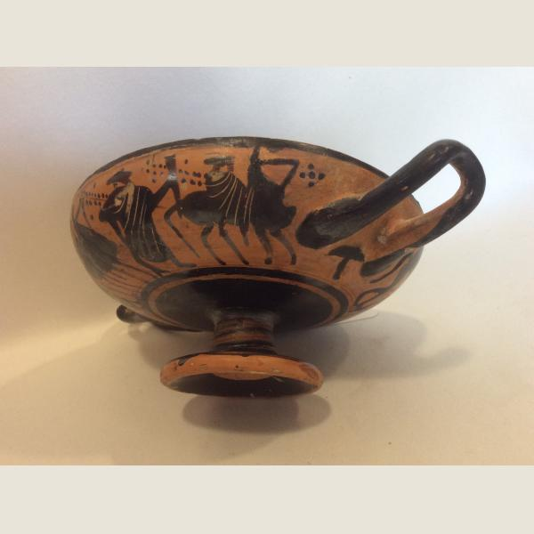 Ancient Greek Attic Black-Figure Kylix