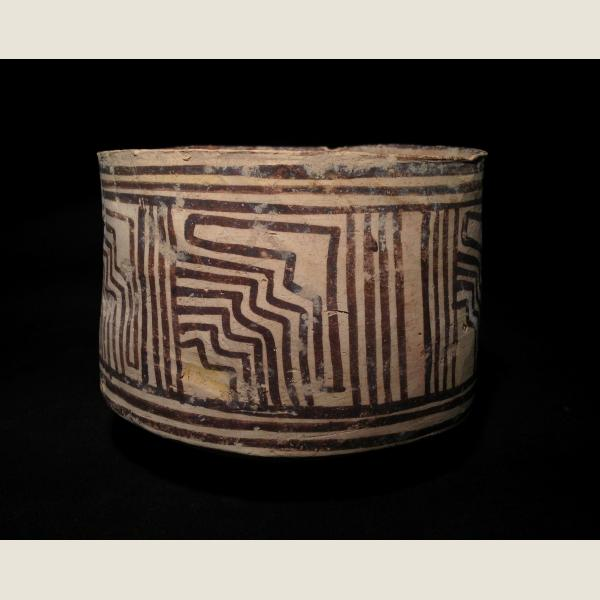 Ancient Indus Valley Cylindrical Jar