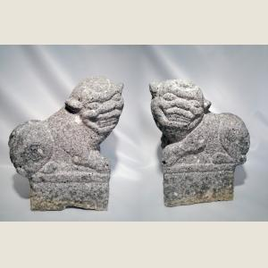 Image For: Ancient Chinese Qing Dynasty Guardian Lions