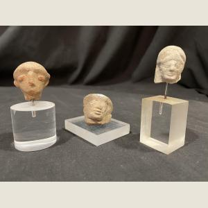 Click here to go to the Ancient Greek Terracotta Head  page