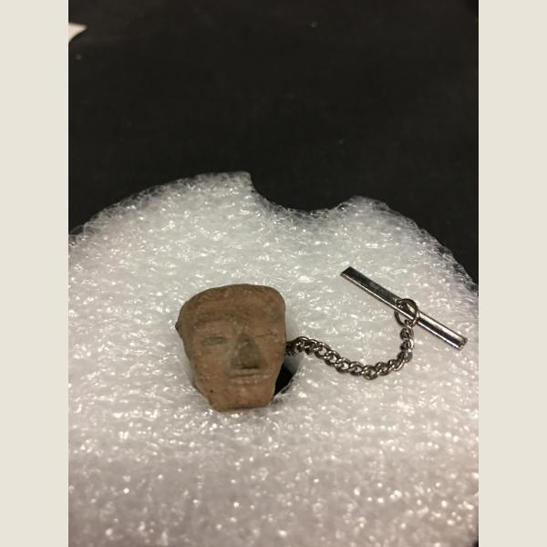 Pre Columbian Head Tie Tack