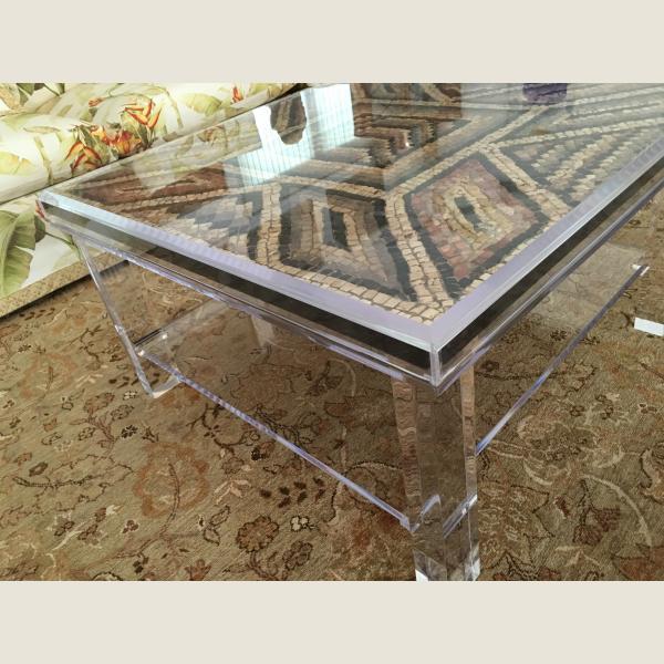 Ancient Roman Mosaic Table