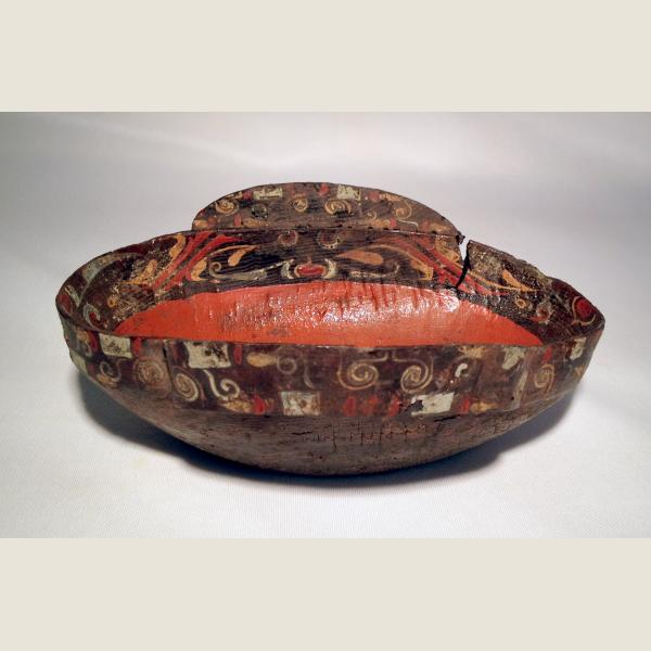 Ancient Chinese Warring States/Han Dynasty Lacquer Cup