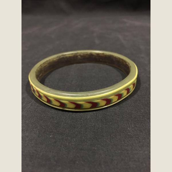 Ancient Glass Polychrome Bracelet