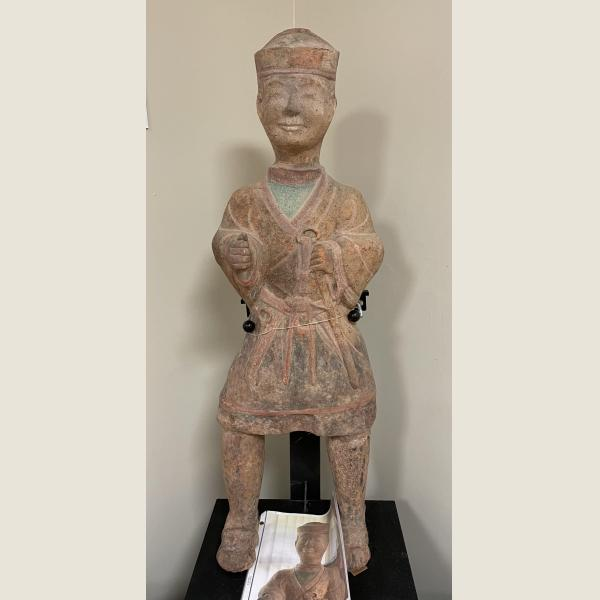 Ancient Chinese Han Dynasty Guardian Warrior