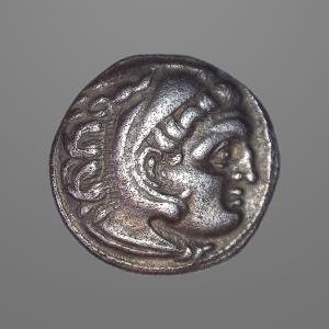 Image For: Ancient Greek Macedonia, Alexander III - Zeus Drachm Coin
