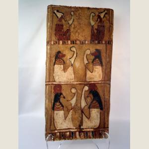 Click here to go to the Ancient Egyptian Six Figure Sarcophagus Panel. page