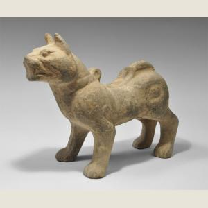 Image For: Ancient Chinese Han Dynasty Dog