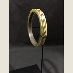 Image For: Ancient Glass Polychrome Bracelet