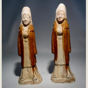 Image For:  Ancient Chinese Pair of Guardians