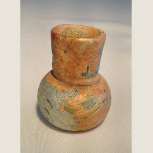 Image For: Ancient Roman Blown Glass Bottle