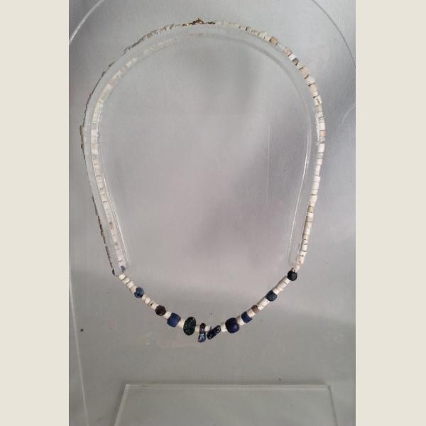 Ancient Roman Glass Bead Necklace