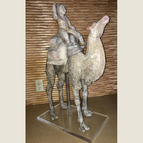 Ancient Chinese Camel and Rider