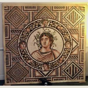 Click here to go to the Ancient Roman Spring Season Mosaic page