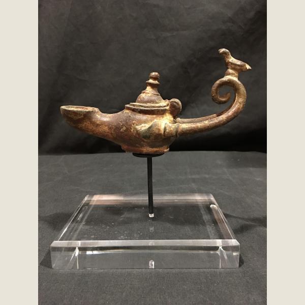 Ancient Roman Oil Lamp